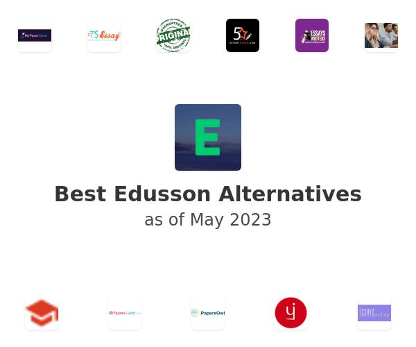 Best Edusson Alternatives