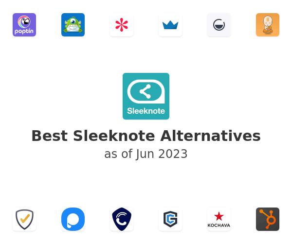 Best Sleeknote Alternatives