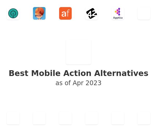 Best Mobile Action Alternatives