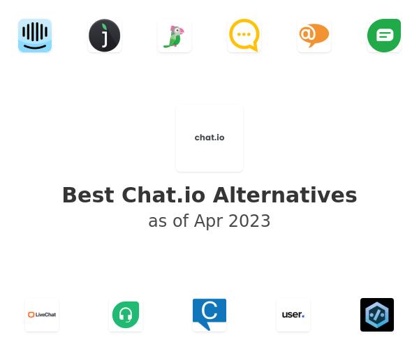 Best Chat.io Alternatives