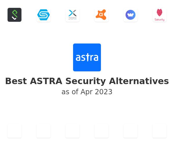 Best ASTRA Security Alternatives