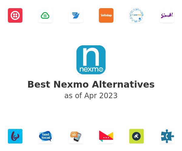 Best Nexmo Alternatives