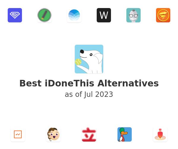 Best iDoneThis Alternatives