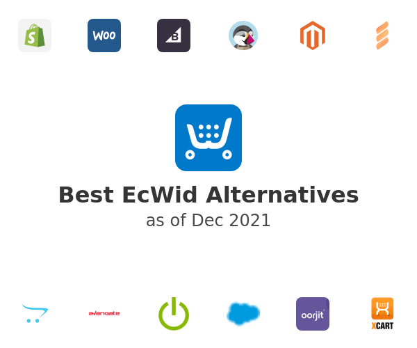 Best EcWid Alternatives