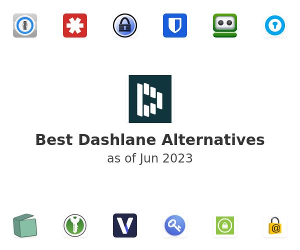 Best Dashlane Alternatives