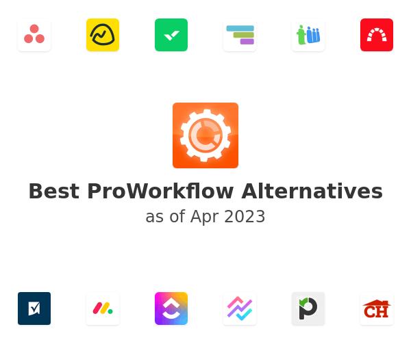 Best ProWorkflow Alternatives