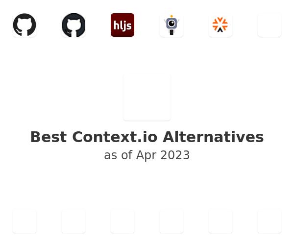 Best Context.io Alternatives