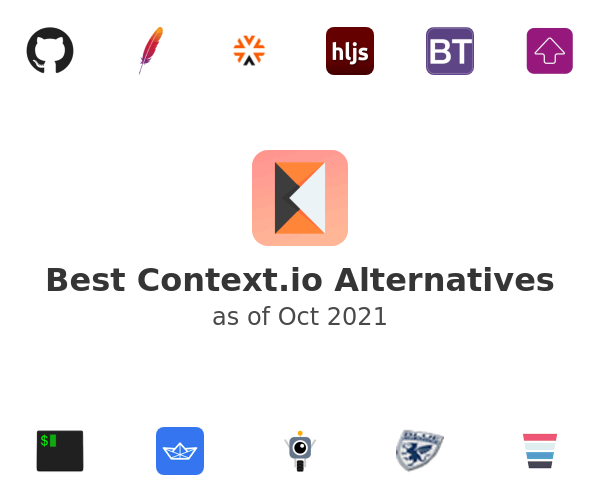 Best Context.io Alternatives