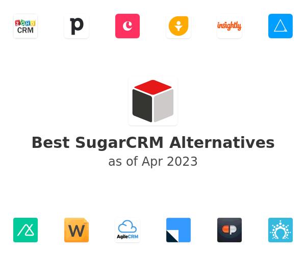 Best SugarCRM Alternatives
