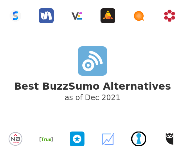 Best BuzzSumo Alternatives