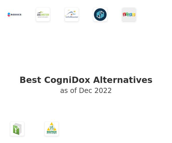 Best CogniDox Alternatives