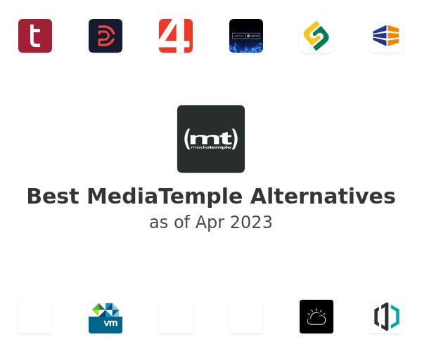 Best MediaTemple Alternatives
