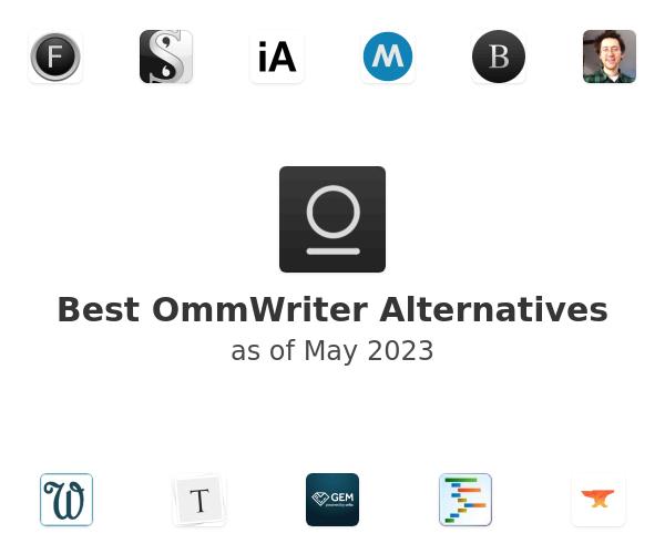 Best OmmWriter Alternatives