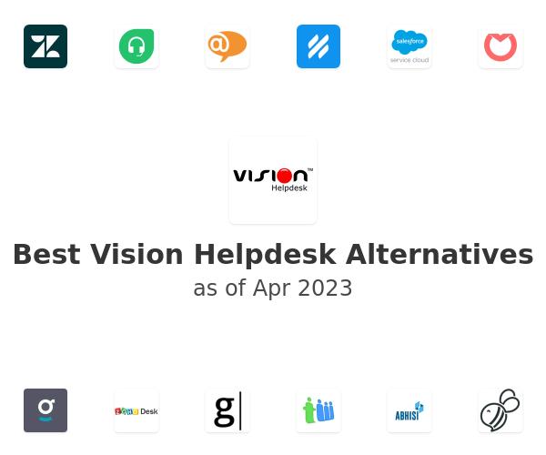 Best Vision Helpdesk Alternatives