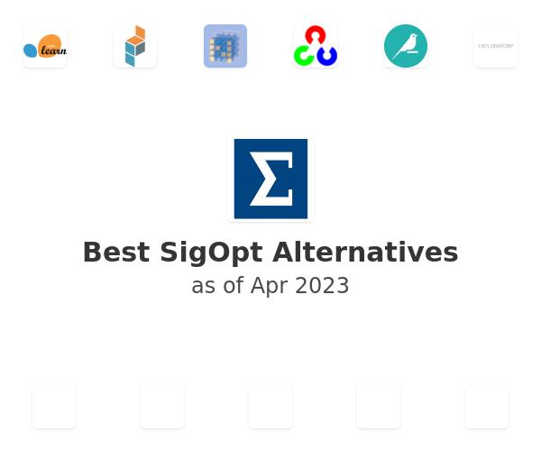 Best SigOpt Alternatives