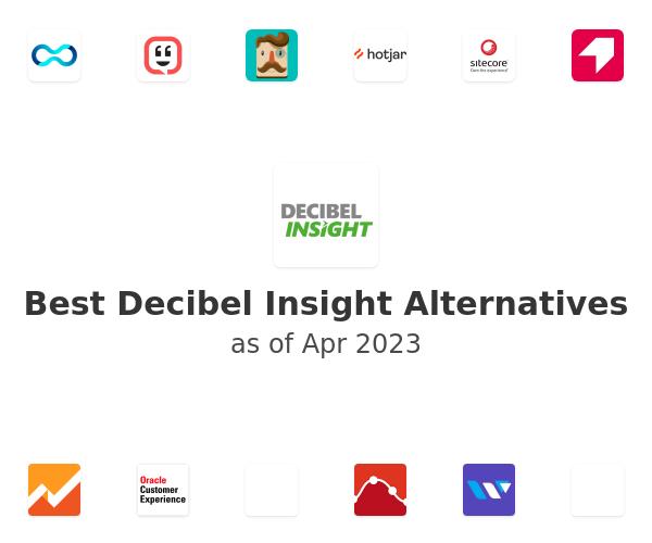 Best Decibel Insight Alternatives