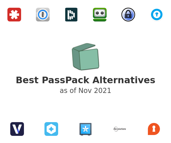 Best PassPack Alternatives