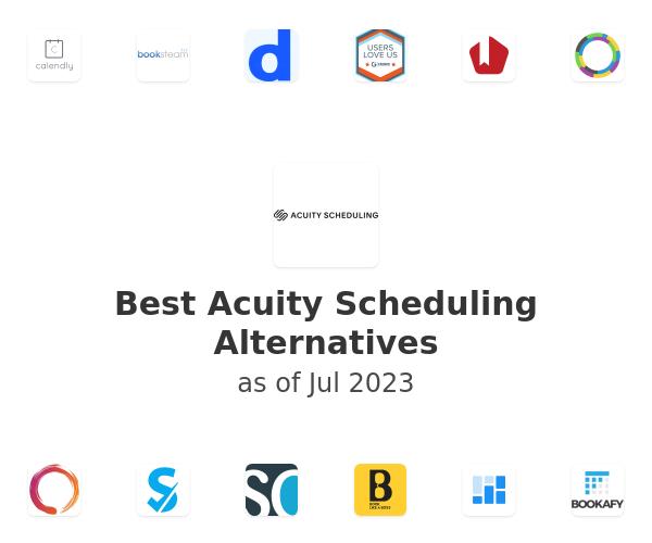 Best Acuity Scheduling Alternatives