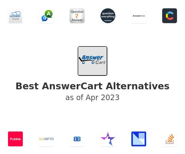 Best AnswerCart Alternatives