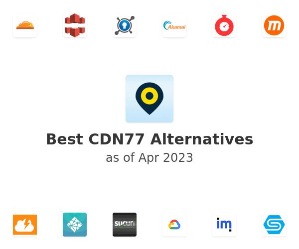 Best CDN77 Alternatives