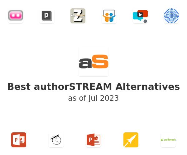 Best authorSTREAM Alternatives
