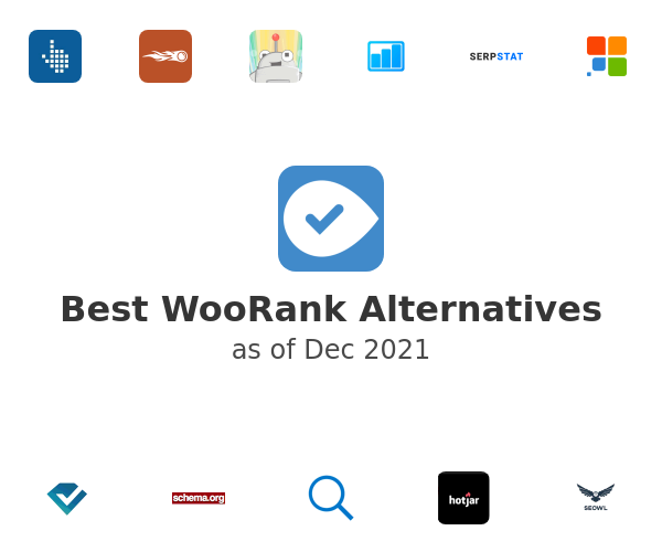 Best WooRank Alternatives