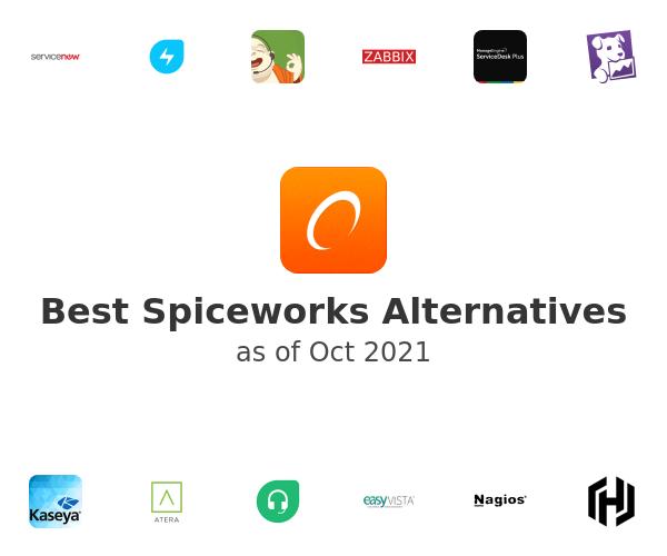 Best Spiceworks Alternatives