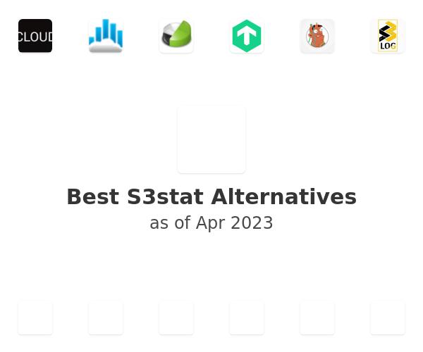 Best S3stat Alternatives