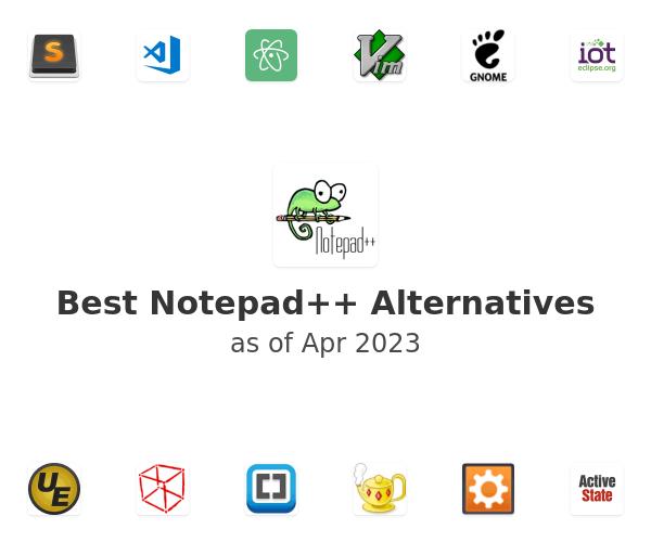 Best Notepad++ Alternatives
