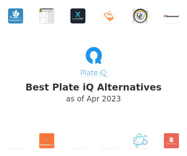 Best Plate iQ Alternatives