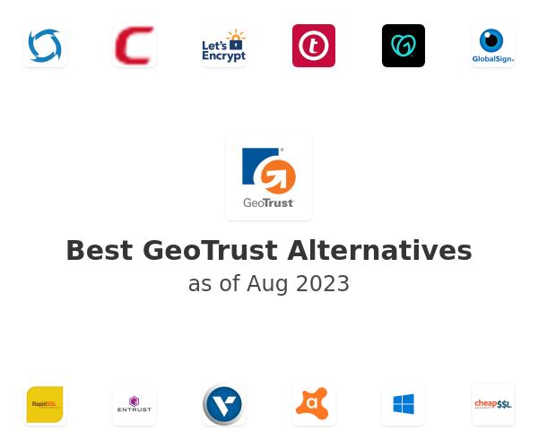 Best GeoTrust Alternatives