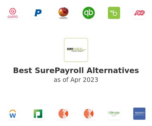 Best SurePayroll Alternatives