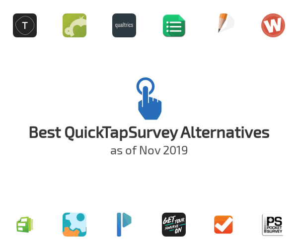 Best QuickTapSurvey Alternatives