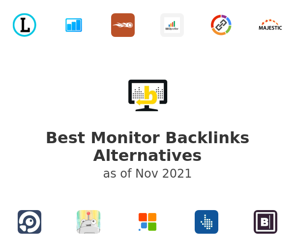 Best Monitor Backlinks Alternatives