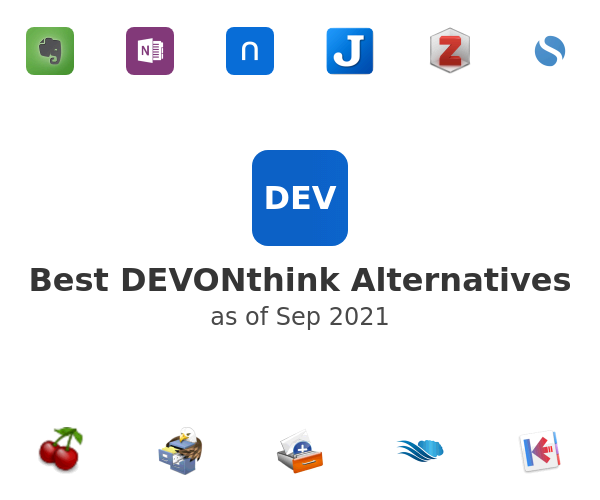 Best DEVONthink Alternatives