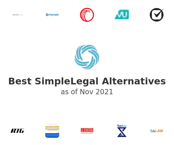 Best SimpleLegal Alternatives