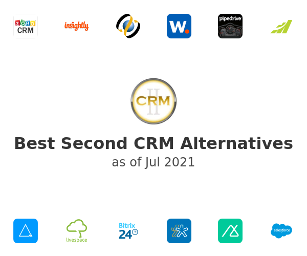 Best Second CRM Alternatives