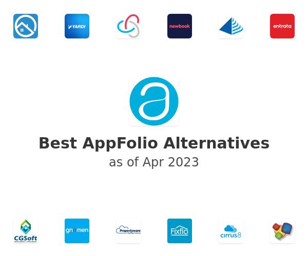 Best AppFolio Alternatives