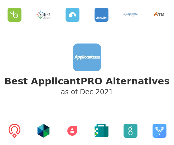Best ApplicantPRO Alternatives