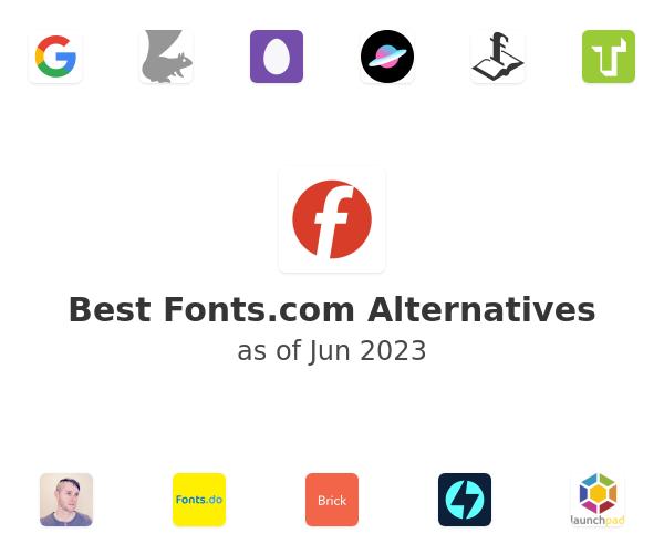 Best Fonts.com Alternatives
