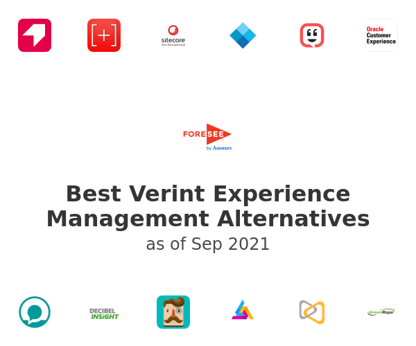 Best Verint Experience Management Alternatives
