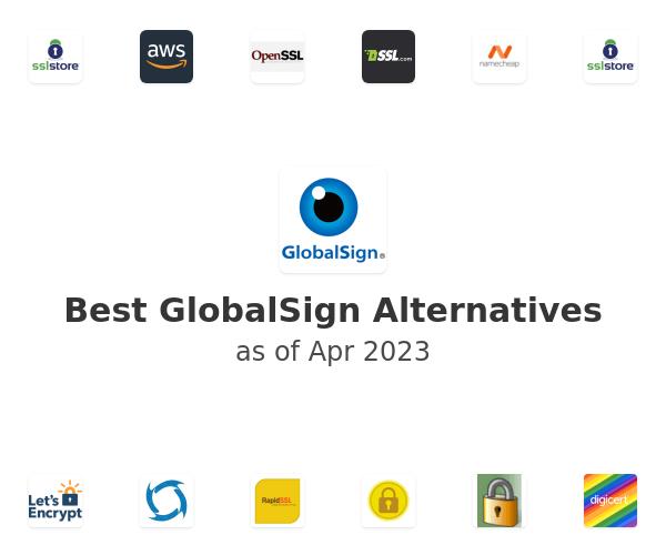 Best GlobalSign Alternatives