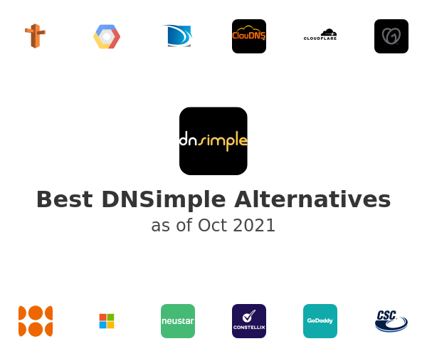 Best DNSimple Alternatives