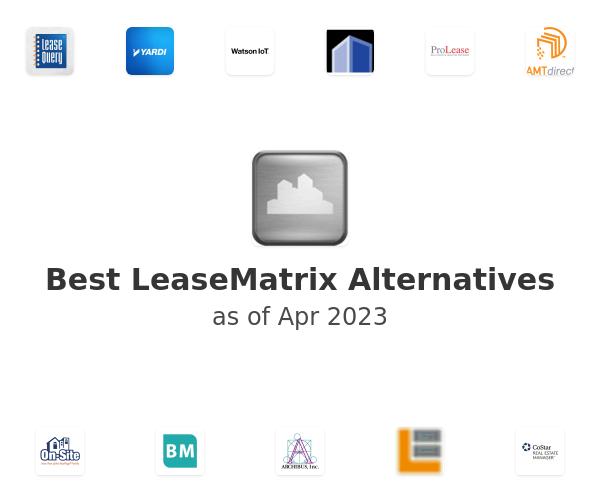 Best LeaseMatrix Alternatives