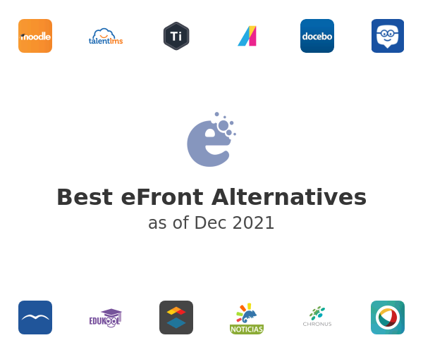 Best eFront Alternatives
