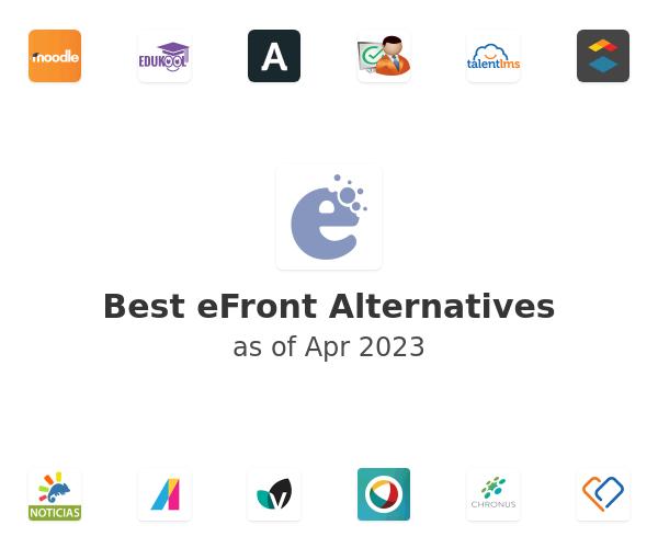 Best eFront Alternatives