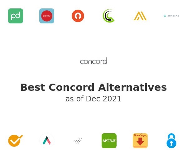 Best Concord Alternatives