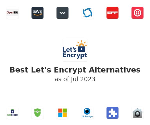 Best Let's Encrypt Alternatives
