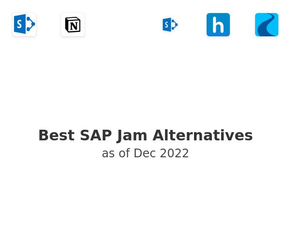 Best SAP Jam Alternatives
