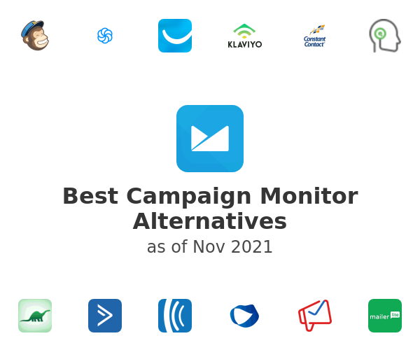 Best Campaign Monitor Alternatives